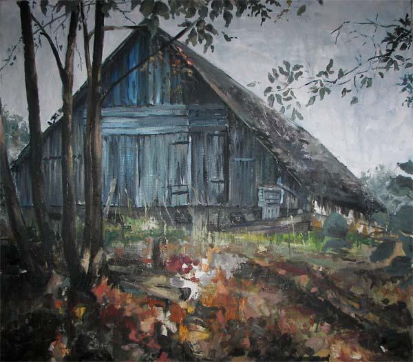 Panele grzewcze - Malowane obrazy chata