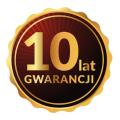 10 la gwarancji na panele grzewcze