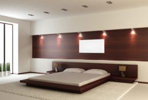Panel grzewczy w sypialni
