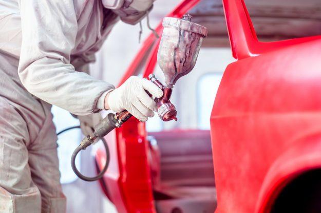 Zastosowanie ogrzewania podczerwienią w lakiernictwie